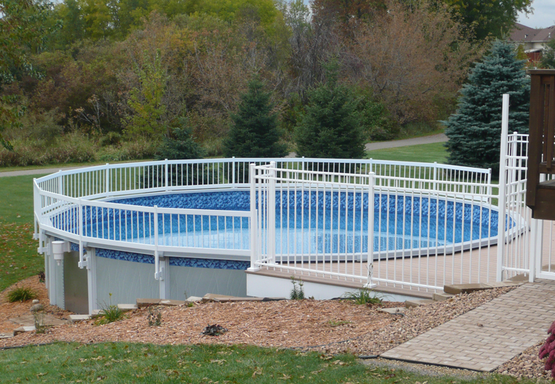 Pool Fence Side View