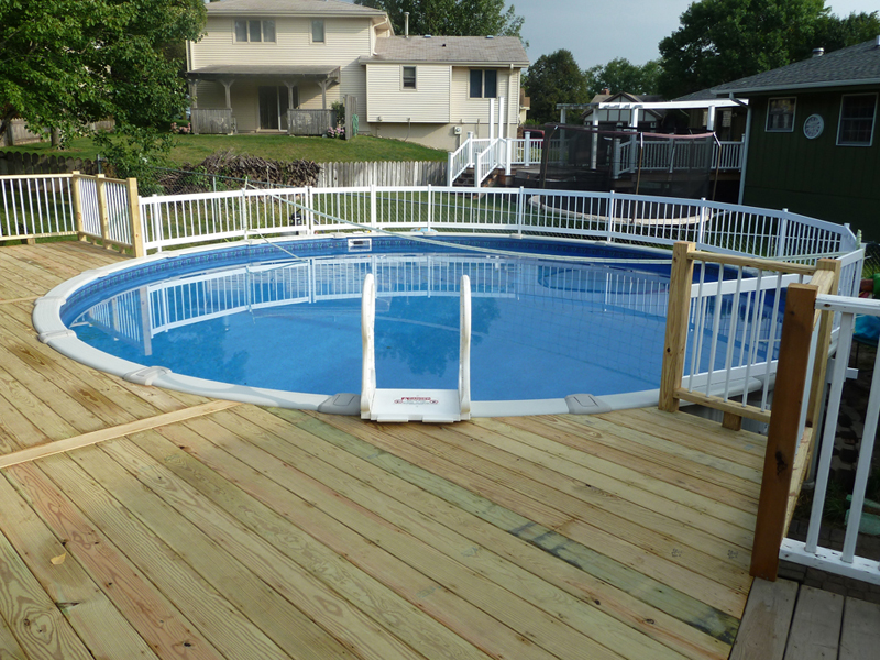 Above Ground Pool Fence Customer