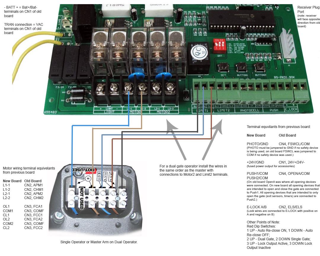 Estate Swing E S1600 S1602 Control Board Mighty Mule 500 Wiring Diagram Qb Id Es3050pcb