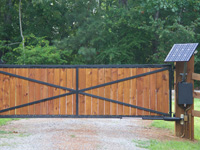 Estate Swing Allegiant Gate Opener Installed