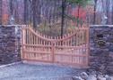 Entranceway Concave Design Dual Gate