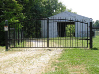 Estate Swing Dual Gates