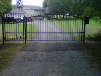 Estate Swing Single Gate
