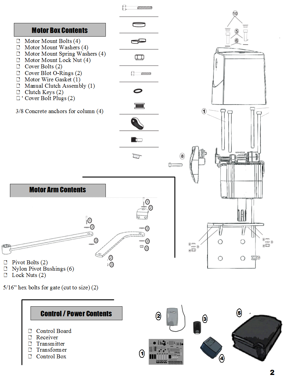 Mighty Mule Exit Wand Wiring Diagram Diy Enthusiasts Diagrams Electric Gate Motor Estate Swing E Sc 1602 Column Mountable Dual Opener W Rh Gatecrafters Com Circuit Board Troubleshooting