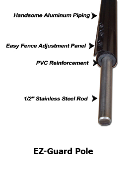 EZ-Guard Steel Pole