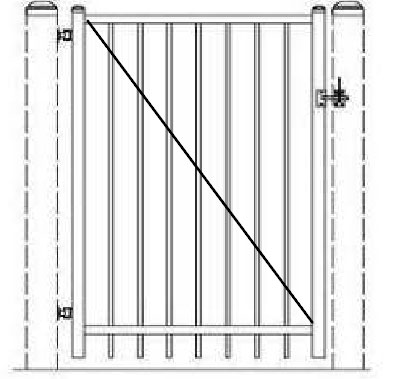 Our Pool Fence Gates - Protect-A-Child Pool Fences for Dade