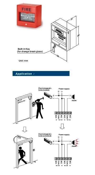 Emergency Door Release - CP-21R