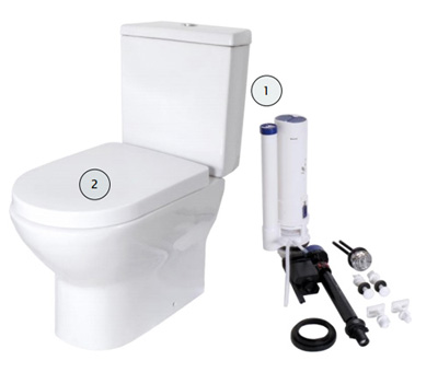 Lift Assure Toilet Parts