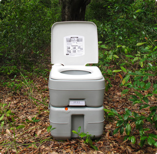 EarthTec Toilet Outdoors