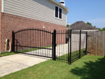Estate Swing Single Gate Installation