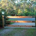 Cedar Gate Install