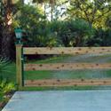 Cedar Gate Frame Install