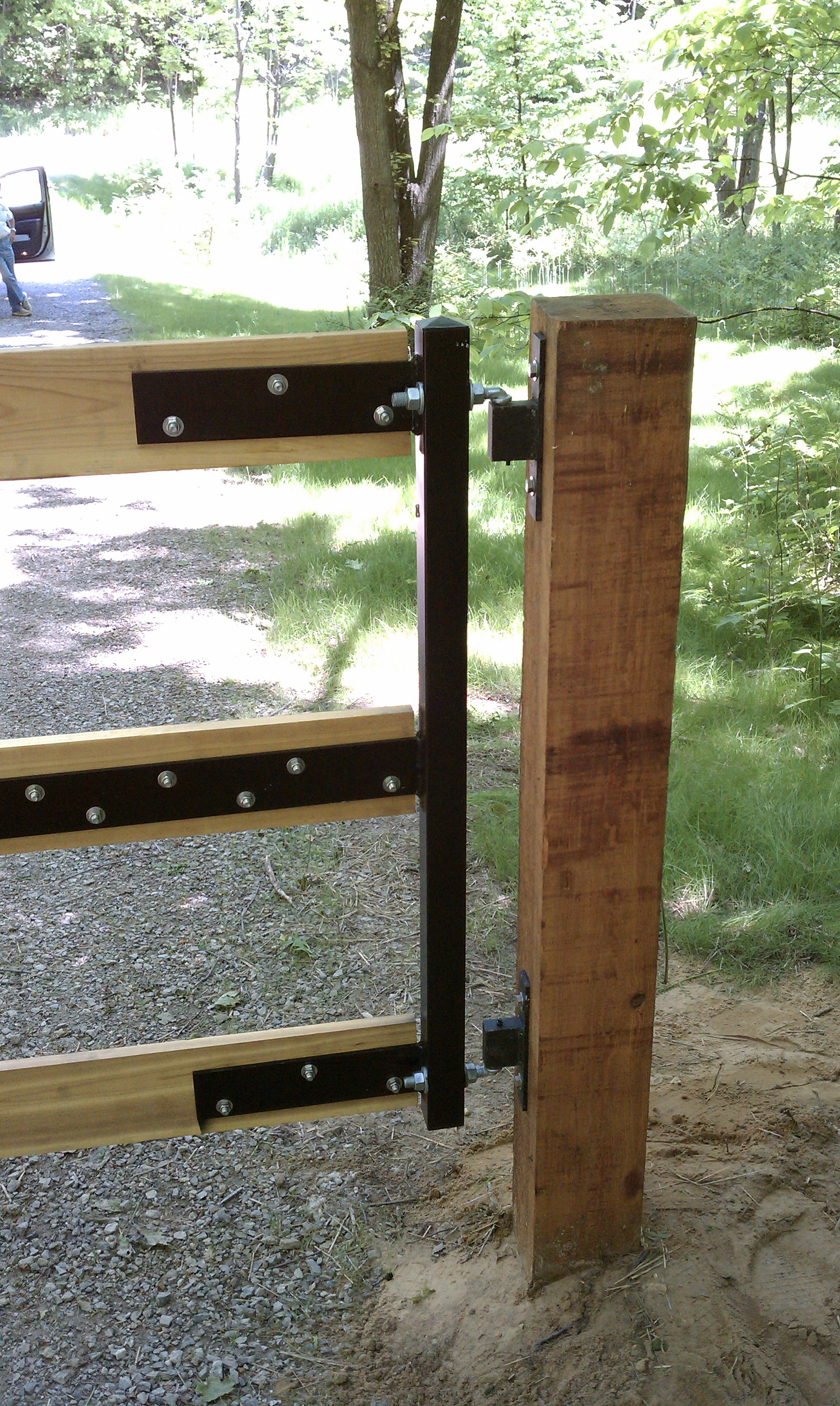 Gate Crafters 3 Rail Single Farm Gate