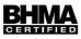 BHMA Certified
