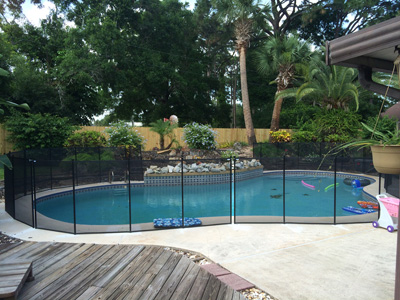 E-Z Guard Pool Fence
