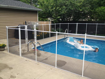 Visiguard Pool Fence